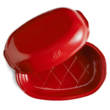Emile Henry Artisan kerámia kenyérsütő piros színben
