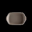 Emile Henry ultime kerámia szögletes sütőforma (silex) 9650