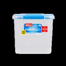 Décor Match-ups clips műanyag tároló doboz 2,3 l