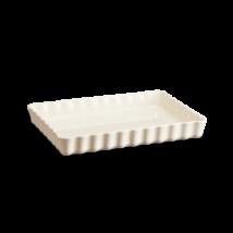 Emile Henry kerámia szögletes téglalap tart sütőforma (deep) (argile)