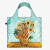 LOQI Van Gogh Napraforgók vázában bevásárlótáska VG.SU