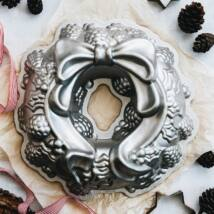 """Nordic Ware Fém sütőforma """"karácsonyi koszorú"""" 85348"""
