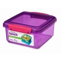 Sistema Lunch Plus műanyag ételtároló 1,2 l (színes)