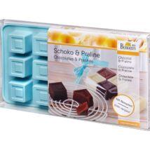 RBV Birkmann Praliné és csokikészítő forma -  Kocka