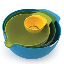 JosephJoseph Nest Mix műanyag keverőtál készlet 4 db-os