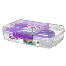 Sistema Bento Box to go műanyag ételdoboz (1,76L)