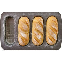 RBV Birkmann Laib&Seele fém mini baguette sütőforma (4 mélyedéses)