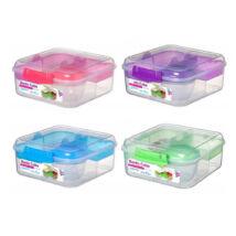 Bento Cube to go műanyag ételdoboz (1,25 l)