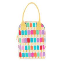 Fluf Zip Lunch Popsicle textil ételhordó táska