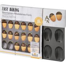 RBV Birkmann Easy Baking fém madeleine forma 18 mélyedéses
