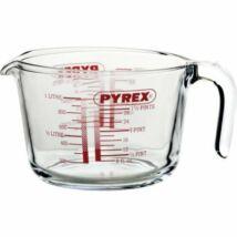 Pyrex mércés üvegkancsó 1 liter