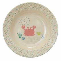 Rice Ocean műanyag leveses tányér