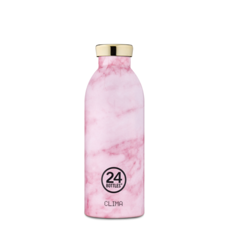 24Bottles Pink Marble Clima kulacs 500 ml