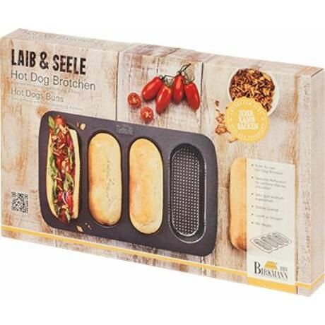 Laib&Seele Hot-Dog fém sütőforma 210394