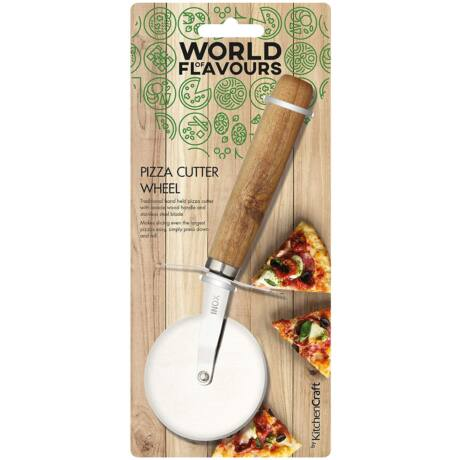 Kitchencraft World of Flavour pizzavágó