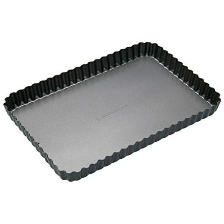 Masterclass fém téglalap alakú quiche sütőforma