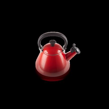 Le Creuset Kone fém vízforraló kanna piros