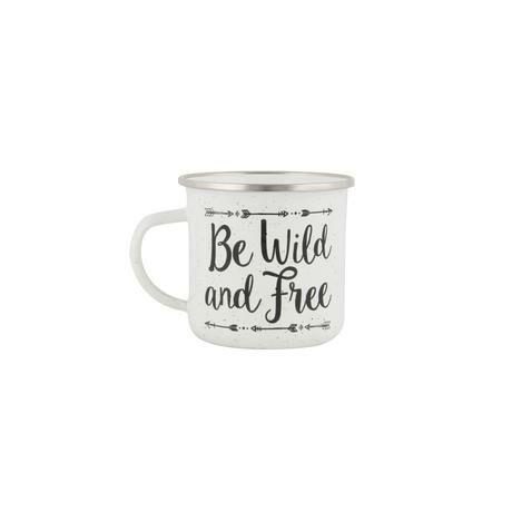 Sass&Belle Be wild and free fém bögre