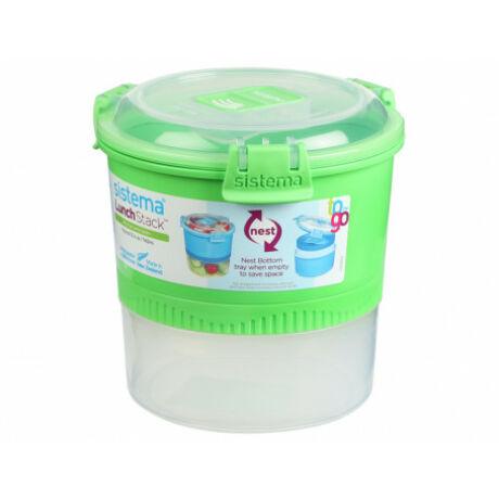 Sistema To Go Lunch Stack műanyag ételhordó 965 ml