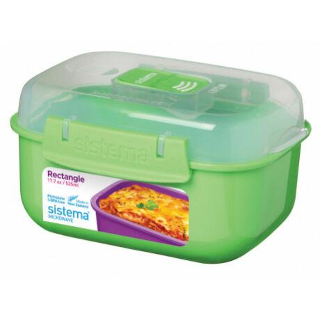 Sistema Microwave műanyag ételdoboz 525 ml