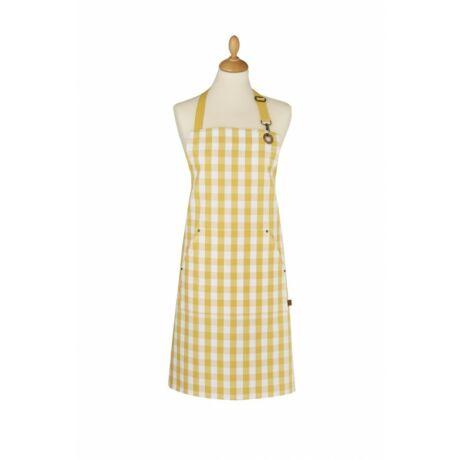 Ulster Weavers Gingham yellow textil kötény
