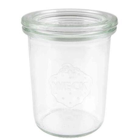 Weck mini-sturz befőttes üveg üvegtetővel 160 ml