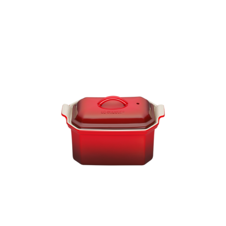 Le Creuset kerámia terrine sütőforma 0,8 l cerise