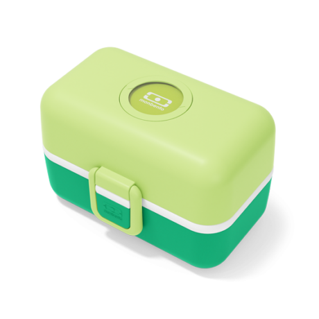 Tresor gyerek bento box apple green színben