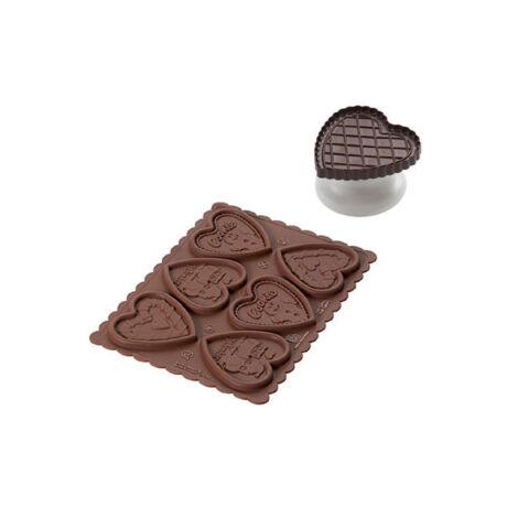 Silikomart Cookie Choc karácsonyi kekszpecsét
