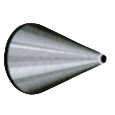 Fém fej 1/1 mm (nyomózsákhoz) (kicsi)