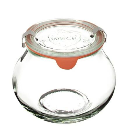 """Befőttesüveg üvegtetővel """"Schmuckform"""""""