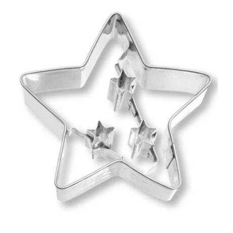 Fém kiszúróforma csillag