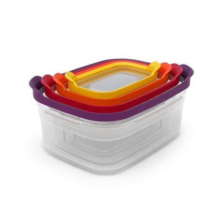 JJ Nest Storage -színes műanyag tárolódoboz szett
