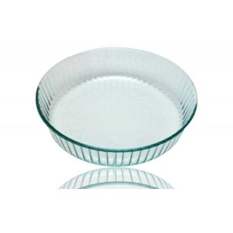 Üveg sütőforma kerek