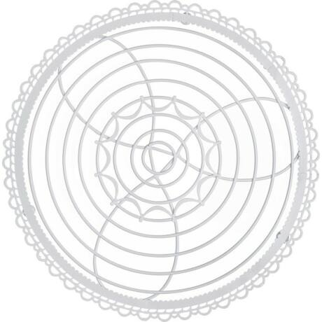 Birkmann fém kerek tortarács  30 cm 430976
