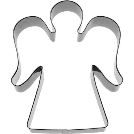 Fém kiszúróforma angyal - kicsi