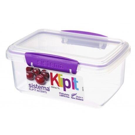 műanyag frissentartó doboz 1 liter