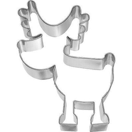 fém kiszúróforma Rudolf 13 cm