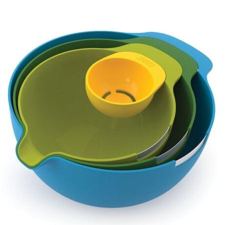 Nest Mix műanyag keverőtál készlet 4 db-os