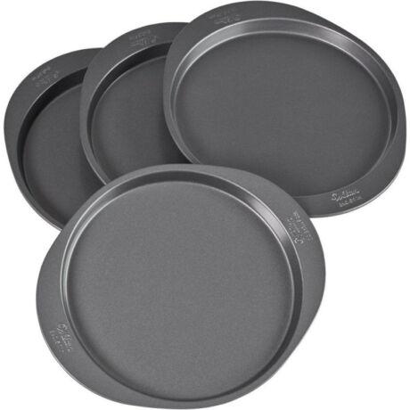 Wilton easy layers fém kerek sütőforma készlet 4 db