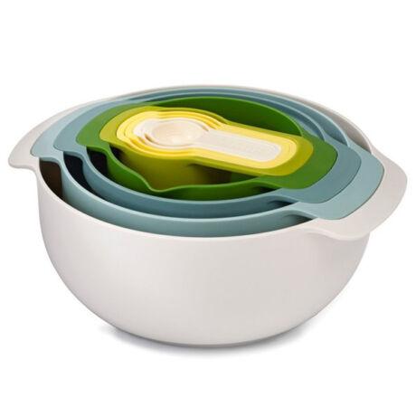 Nest 9 Plus műanyag keverőtál készlet (opal)