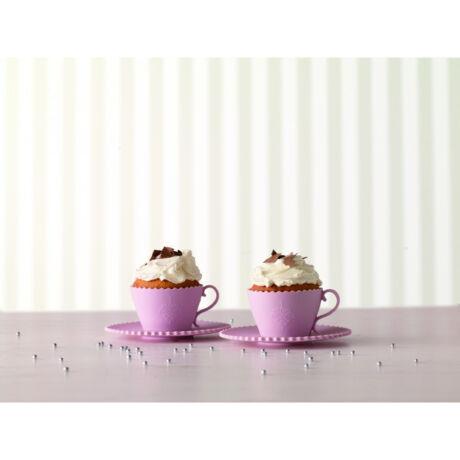 Birkmann szilikon cupcake sütőforma (2db csésze alakú)