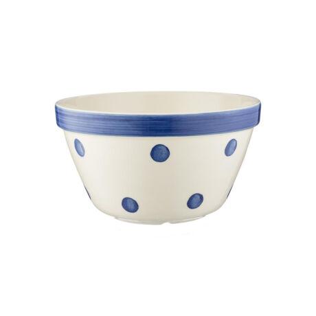 Mason Cash S24 kerámia tál (kék pöttyös) 20cm