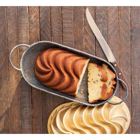 Nordic ware Heritage fém püspökkenyér sütőforma 1,4 liter