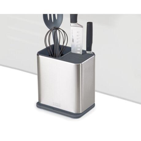 Joseph Joseph Surface műanyag konyha eszköztároló késtartóval 2 blokk (silver)
