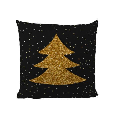 Gold Christmas 1 párnahuzat töltettel