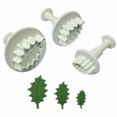 PME kiszúró készlet (holly leaf)