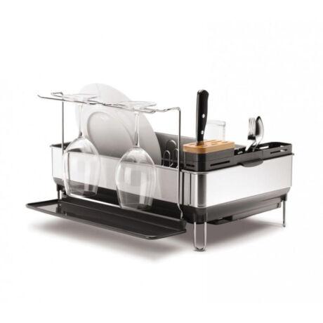 KT1154  konyhai edényszárító pohártartóval (szürke)