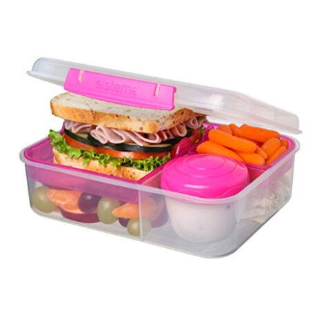 Bento Lunch to go műanyag ételdoboz (1,65 l )