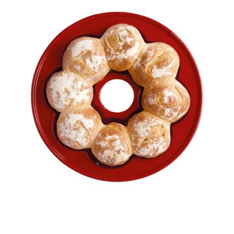 Emile Henry crown bread kerámia kenyér sütőtál (grand cru)
